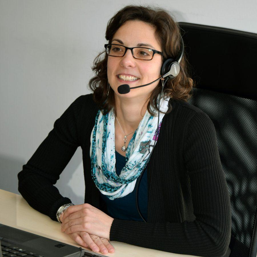 Mitarbeiterin Univention Telefonsupport