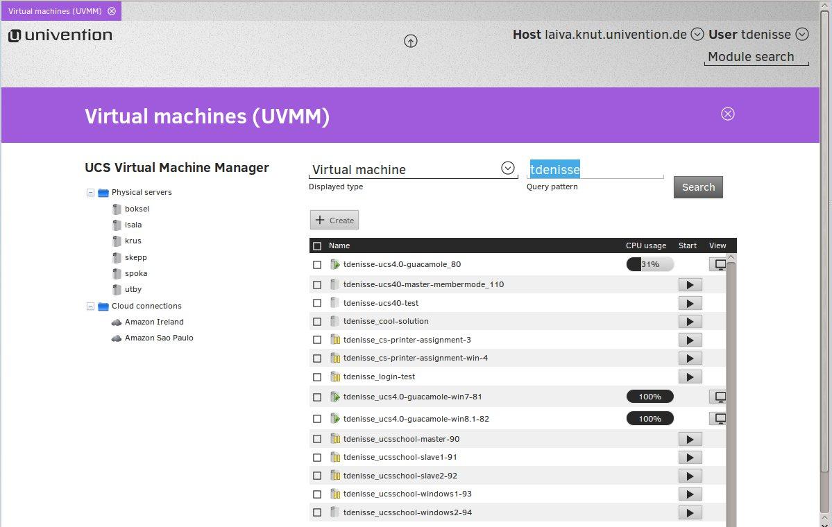 UCS Virtual Machine Manager UVMM