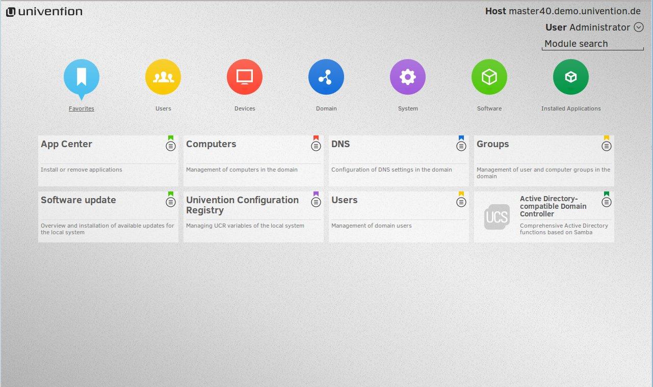 Univention_Management_Console