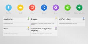 Univention Management Console overview