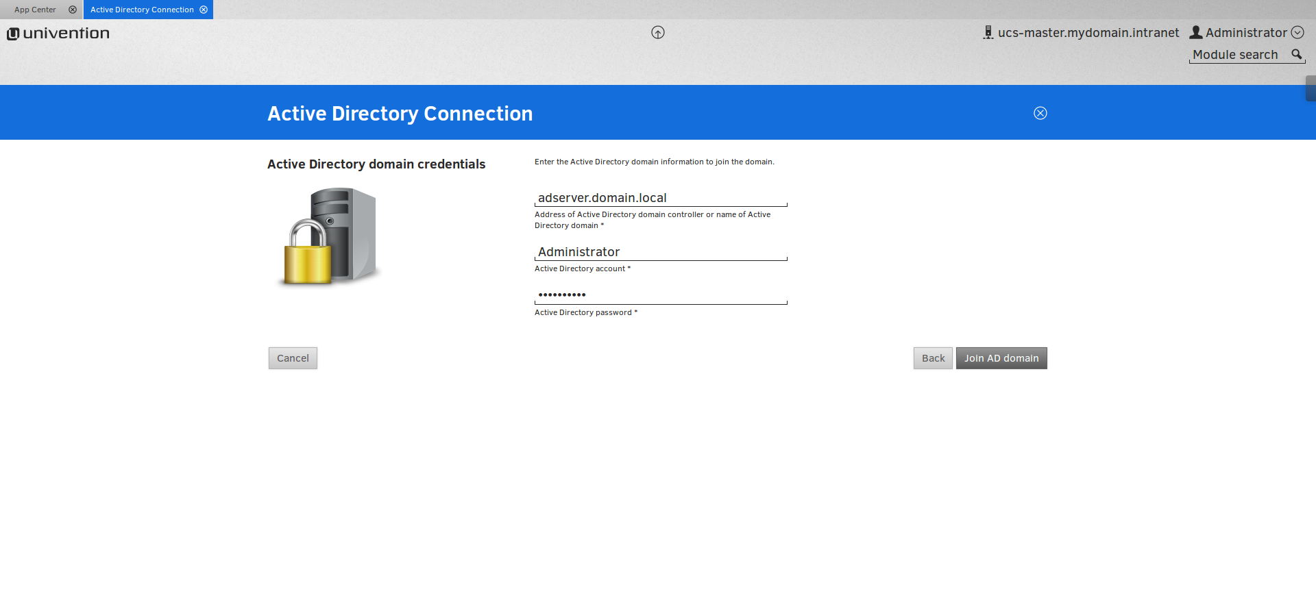 Active Directory Domain Join