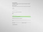 UCS - Password Reset Request EN