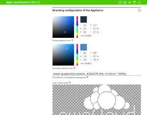 App Center Provider Portal. Beispiel: ownCloud