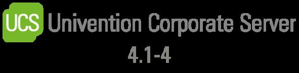 UCS Release 4.1-4 Logo