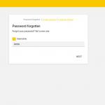 Screenshot Password Self Service in UCS 4.2