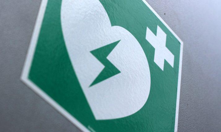 Photo of a hospital resuscitation icon