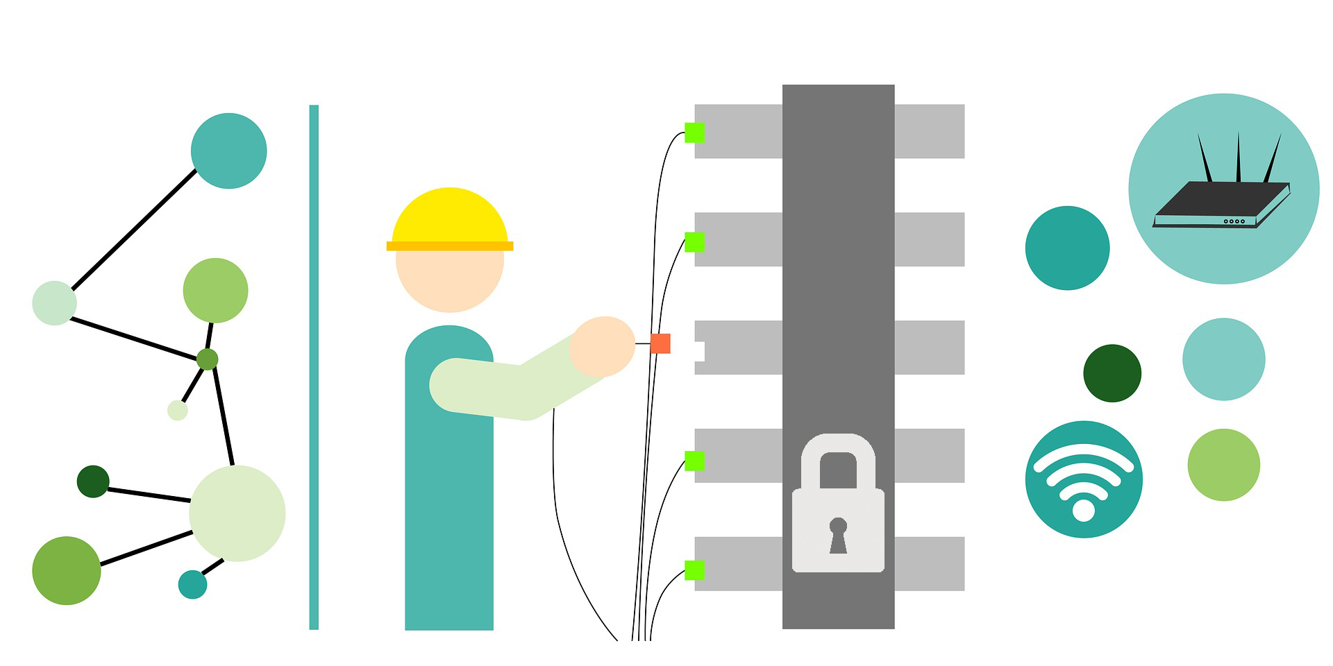 Step by Step Guide to a Multi-Server Environment for Effective Protection  against Outages and Network Attacks