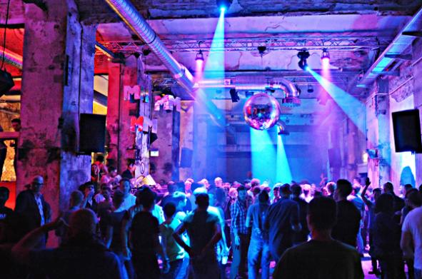 Foto vom Berliner SchwuZ Klub