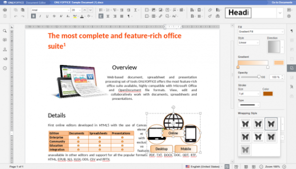 An Introduction to ONLYOFFICE Document Editors Univention