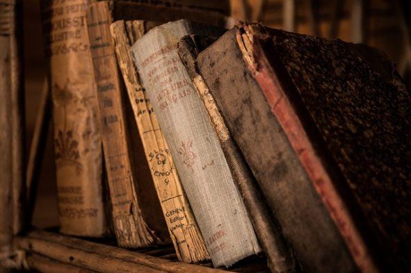 Bild von alten Büchern