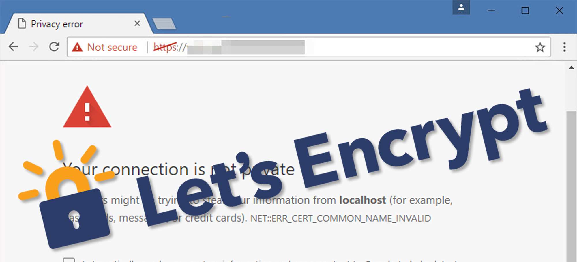 Chrome Warns Users against HTTP – Configure HTTPS in UCS