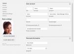 Screenshot UCS 4.4: User Profil