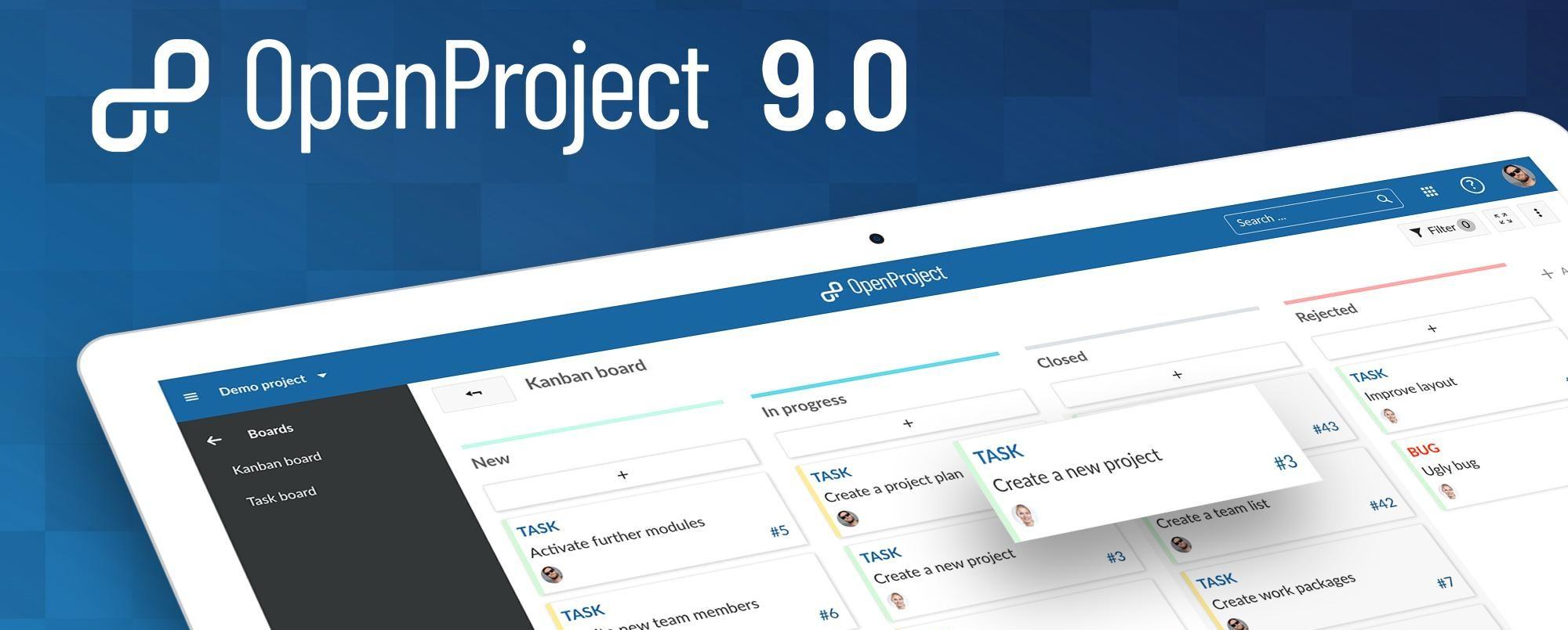 Release of OpenProject 9 - comfortable use via UCS LDAP
