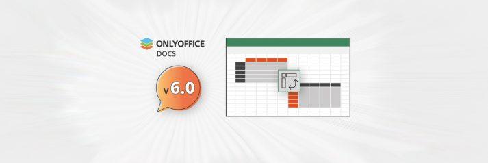 ONLYOFFICE Docs V6.0
