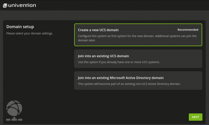 Install Domainrole in UCS 5.0