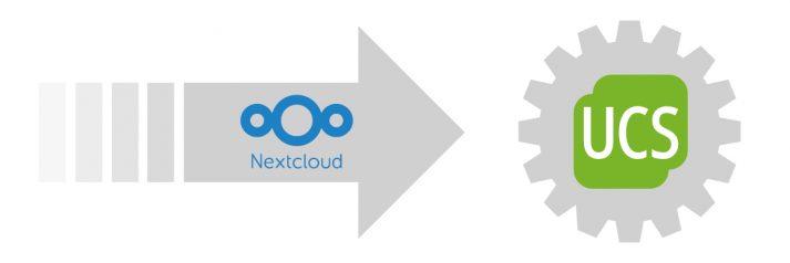 Nextcloud manuell in UCS integrieren